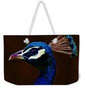 Fractalius Peacock Weekender Tote Bag
