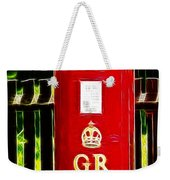 Fractalius Pillar Box Weekender Tote Bag