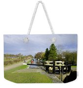 Fradley Middle Lock No. 18 Weekender Tote Bag by Rod Johnson