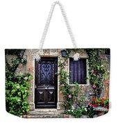 Framed In Flowers Dordogne France Weekender Tote Bag