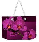 Framed Orchids Weekender Tote Bag