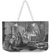 France: Baptism At Home Weekender Tote Bag