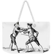France: Fencing, C1750 Weekender Tote Bag