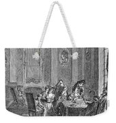 France: Gambling, C1750 Weekender Tote Bag