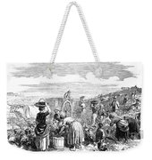 France: Grape Harvest, 1854 Weekender Tote Bag