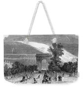 France: Meteor, 1868 Weekender Tote Bag