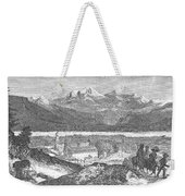 France: Spa, 1856 Weekender Tote Bag
