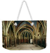 France: Ste. Chapelle Weekender Tote Bag