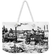 France: Steam Threshing Weekender Tote Bag