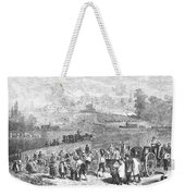 France: Wine Harvest, 1871 Weekender Tote Bag
