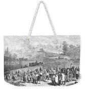 France: Wine Harvest, 1871 Weekender Tote Bag