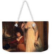 Frances Borlase Later Frances Grenfell And Pascoe George Norman Grenfel Weekender Tote Bag by Sir Martin Archer Shee