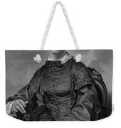 Frances Sargent Osgood (1811-1850). American Poet. Engraving From A Painting By Alonzo Chappel, C1873 Weekender Tote Bag
