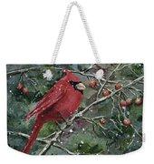 Franci's Cardinal Weekender Tote Bag