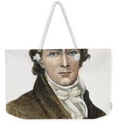 Francis Scott Key (1779-1843) Weekender Tote Bag