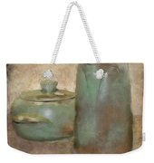 Frankhoma Pottery Weekender Tote Bag by Betty LaRue