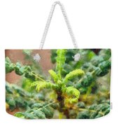 Frankincense Tree Leaves Weekender Tote Bag