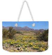 Franklin Mt. Poppies Weekender Tote Bag