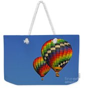 Fraternal Twin Balloons Weekender Tote Bag