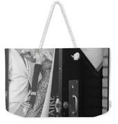 Fred And Ginger In Black And White Weekender Tote Bag