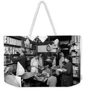 Fred Grovers Grocery Store Weekender Tote Bag by Photo Researchers