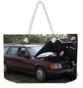 Fred The Car Weekender Tote Bag