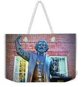 Frederick Douglass Weekender Tote Bag by Brian Wallace