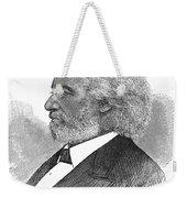 Frederick Douglass (c1817-1895). American Abolitionist. Wood Engraving, American, 1877 Weekender Tote Bag