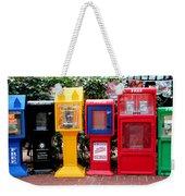 Free Color Weekender Tote Bag