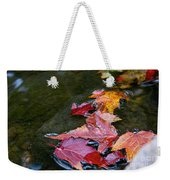 Free Flowing Weekender Tote Bag