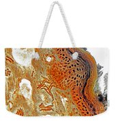Free Nerve-endings, Epidermis Weekender Tote Bag