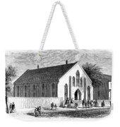 Freedmen School, 1867 Weekender Tote Bag