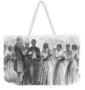 Freedmen: Wedding, 1866 Weekender Tote Bag by Granger