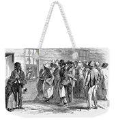 Freedmens Bureau, 1866 Weekender Tote Bag