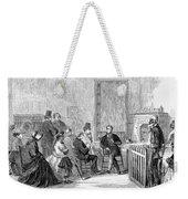Freedmens Bureau, 1867 Weekender Tote Bag