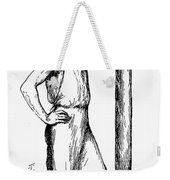 French Abolitionist, 1850s Weekender Tote Bag