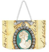 French Cameo 1 Weekender Tote Bag