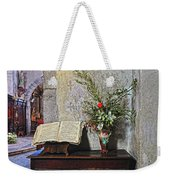 French Church Decorations Weekender Tote Bag