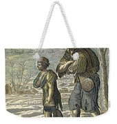 French Class Cartoon, 1657 Weekender Tote Bag