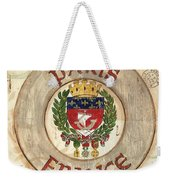 French Coat Of Arms Weekender Tote Bag