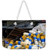 French Creek Trawlers Weekender Tote Bag by Bob Christopher