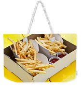 French Fries In Box Weekender Tote Bag