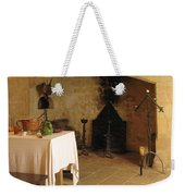 French Kitchen In Castelnaud Weekender Tote Bag