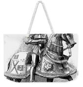 French Knight, 16th Century Weekender Tote Bag