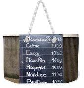 French Mussels Weekender Tote Bag