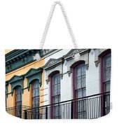 French Quarter Balconies Weekender Tote Bag