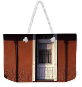 French Quarter Door And Shadows New Orleans Weekender Tote Bag