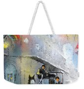French Quarter In New Orleans Bis Weekender Tote Bag