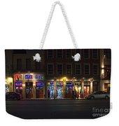 French Quarter Shopping At Night Weekender Tote Bag