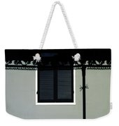 French Quarter Shutter And Shadows Weekender Tote Bag